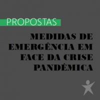 Propostas: Medidas de emergência em face da crise pandémica